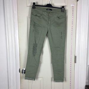 ❤️5/25$❤️ Stretchy jeans skinny green 30
